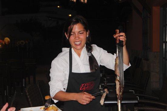 Rodizio Papalus Restaurant: Het zwaard en het vlees