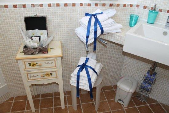 Albis Rooms: Bagno pulitissimo e curato nei dettagli