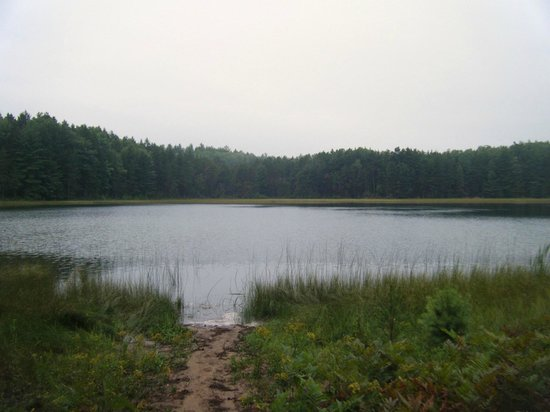 Atlanta, MI: Many isolated lakes in the area that are pristine and fun to kayak