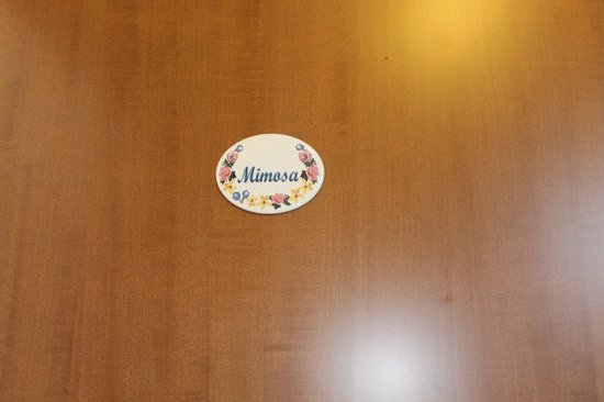 "Albis Rooms: La camera assegnataci ""Mimosa"""
