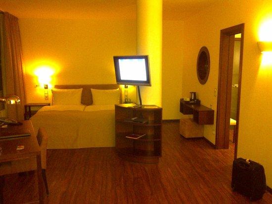 ABION Villa : Part of the suite.  It is big, but plain.