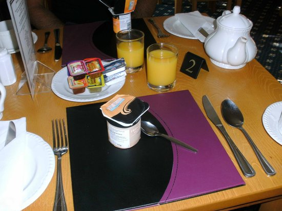 Kingsholm Hotel: Frühstücksplatz