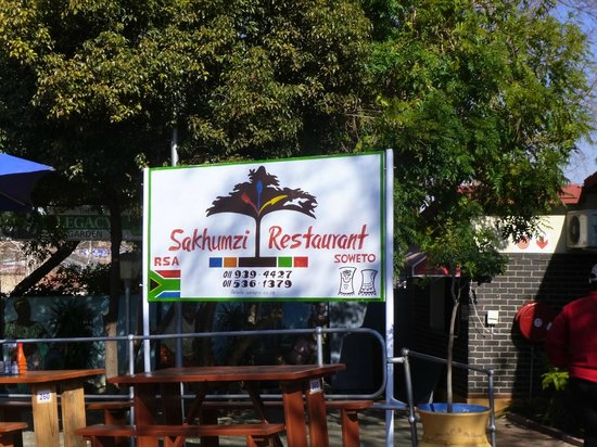 Sakhumzi Restaurant: un'insegna inconfondibile