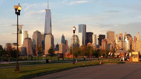 The Westin Jersey City Newport: Sunset from Liberty State Park just moments away