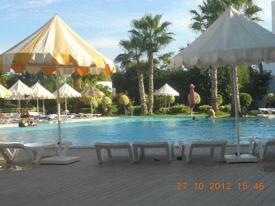 Laico Tunis Hotel : het zwembad met buitenluchtrestaurant