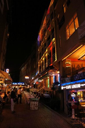 Ares Hotel Istanbul : Ares at night