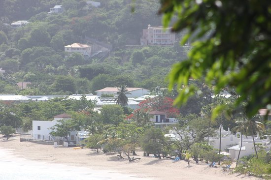 Spice Island Beach Resort: Spice Island from up the hill