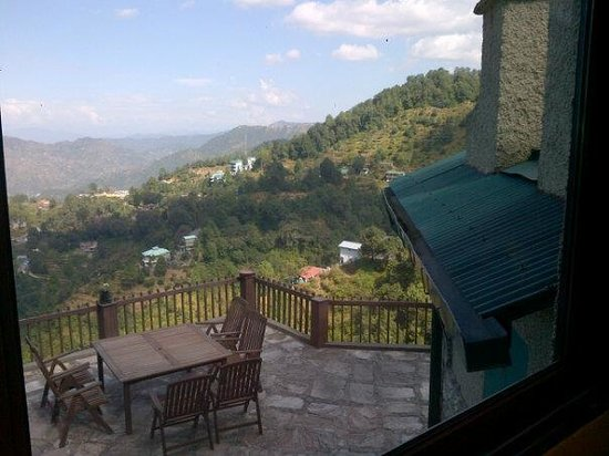 Soulitude in the Himalayas: view from the room