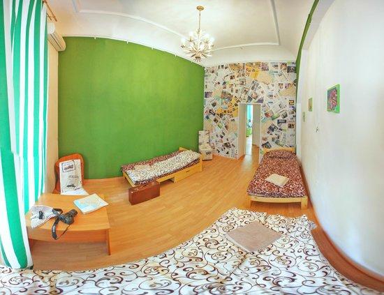Chemodan Hostel: 3-ех местный номер