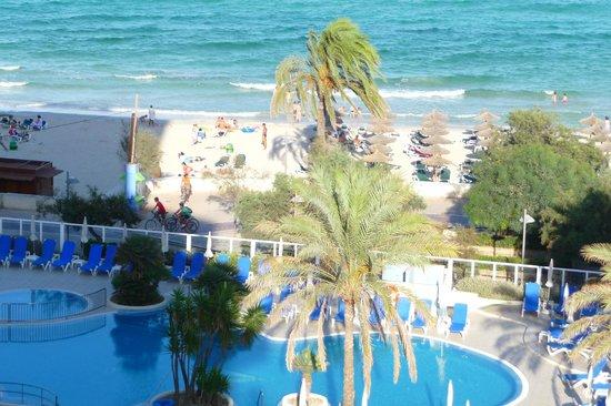Hotel Sabina: vista de quarto lateral