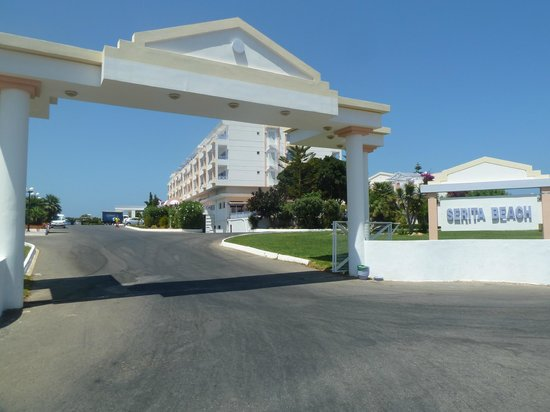 Mitsis Serita Beach Hotel : entree