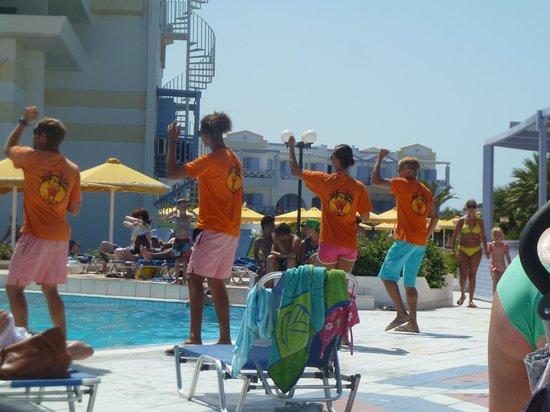 Mitsis Serita Beach Hotel : animation