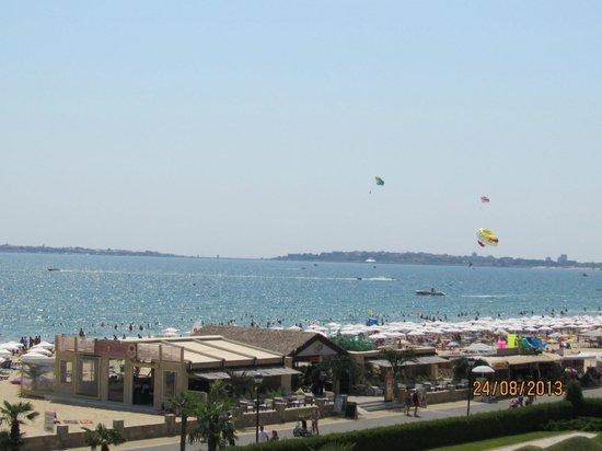 DIT Evrika Beach Club Hotel : Vue de Nésébar de la chambre