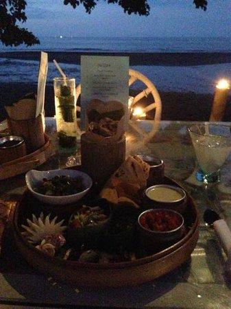 Rikki's Beach Bistro: plateau repas