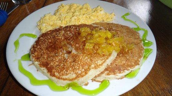 Hotel Banana Azul : amazing pancakes and eggs
