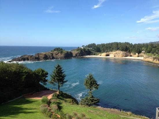 Whale Cove Inn : amazing view from all suites