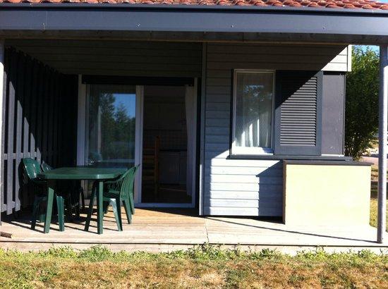 Le Domaine de Nouailles : Terrasse