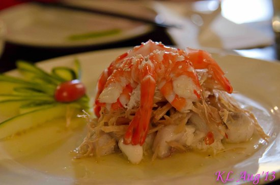 Sao Nam Vietnamese Cuisine : Mangosteen salad