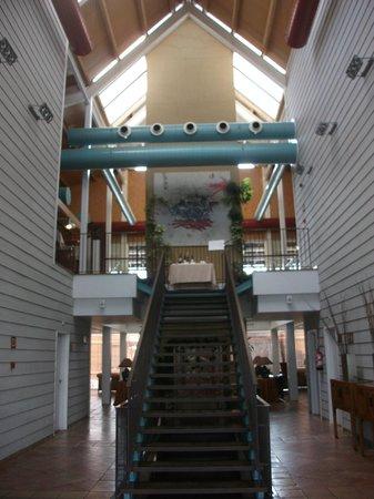 Hotel Nuevo Portil golf: acceso restaurante
