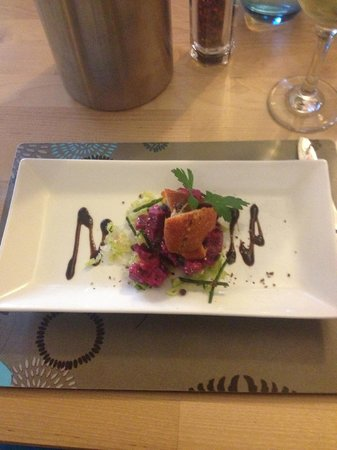 The Blue Marlin: Delicious Haddock starter