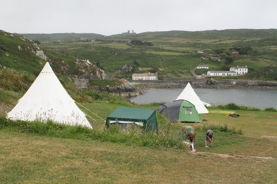 Cape Clear Campsite: Chleire Haven camping site