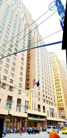 The New Yorker A Wyndham Hotel: Façade du New Yorker Hotel