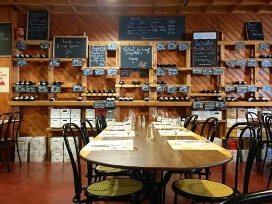 La Taverne de Tasdon : la salle