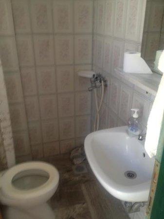 Emiliana: spacious bathroom with nowhere to put shower head
