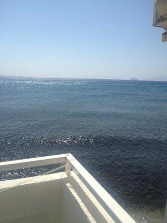Emiliana: view from balcony