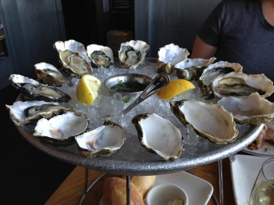 Hog Island Oyster Company: Oysters, oysters, oysters.