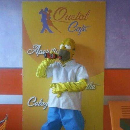 Quetal Cafe': MASCOTTE