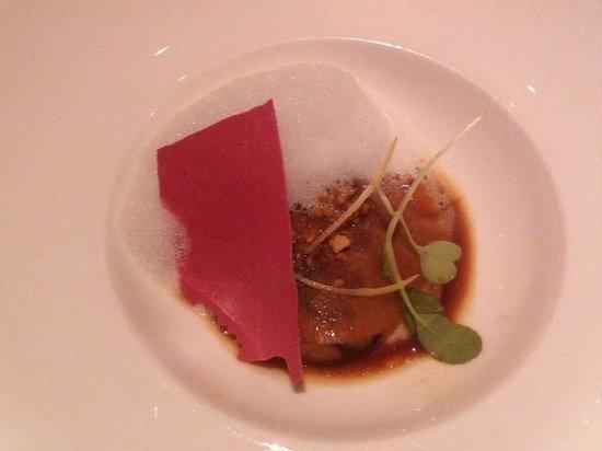 Chateau de Salettes : Entrée foie gras