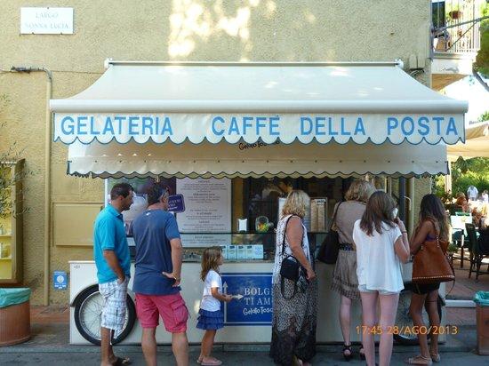 Bolgheri ti amo gelateria caffe della posta