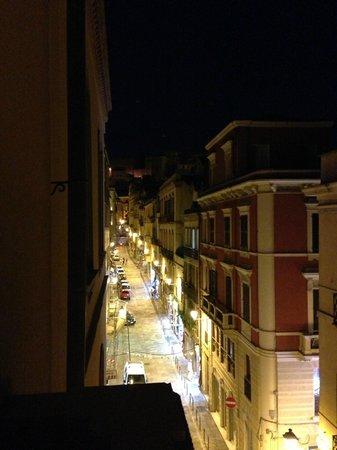 Hotel Italia: вид с балкона