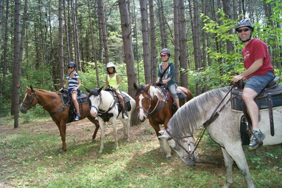 Whitney, Canada: Trail ride