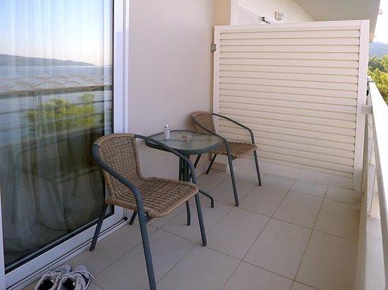 Sirene Blue Resort : our balcony