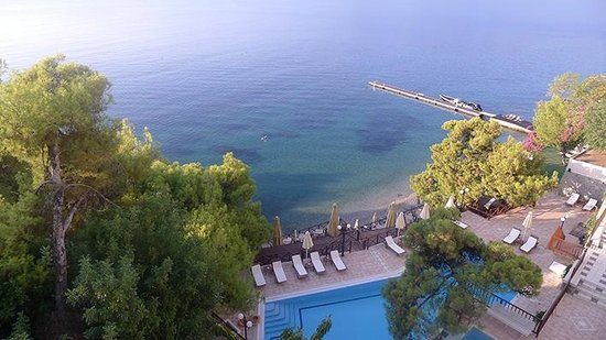 Sirene Blue Resort : view from our room
