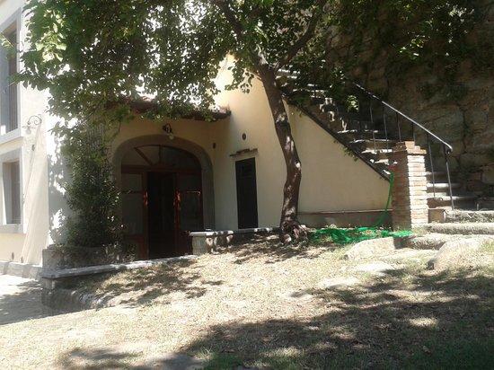 La Casa del Melograno: entrata