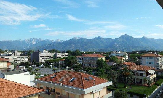 Hotel Residence Villa Jolanda: Vista verso Nord