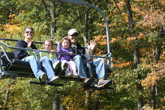 Lagos Finger, estado de Nueva York: Bristol Mountain Fall Sky Ride - Finger Lakes