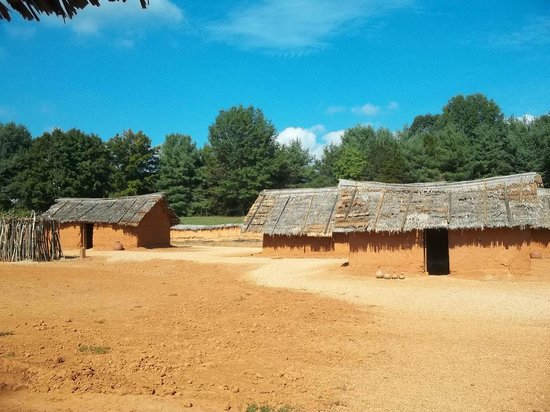 Frontier Culture Museum: West African compound
