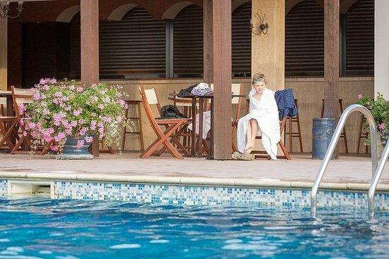 Hostellerie Domaine de Montgivroux: The pool at Montgivroux