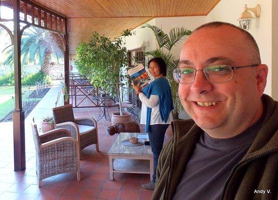 Hlangana Lodge: Ik en mijn vriendin