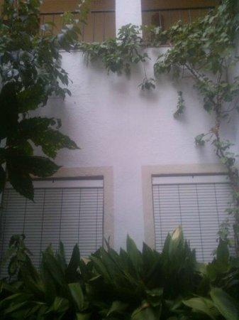 Ninays : Patio entre habitaciones