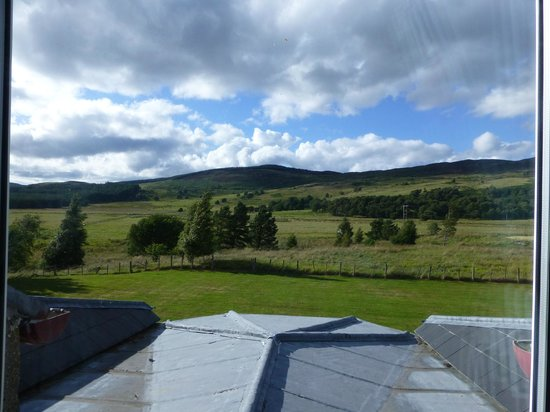 Steadings at the Grouse & Trout: A lovely view