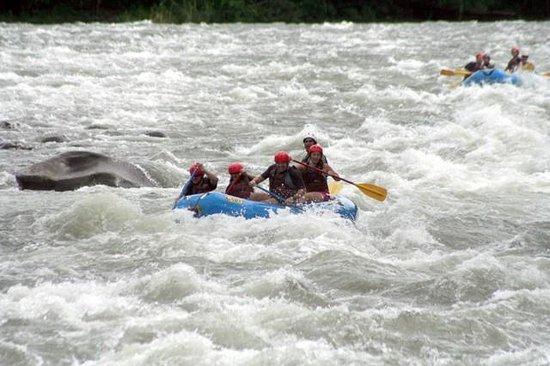 Hacienda Pozo Azul: rafting