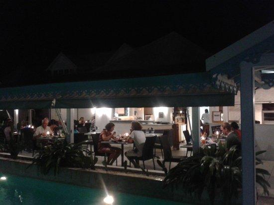 ristorante dell' hostellerie des Chateaux