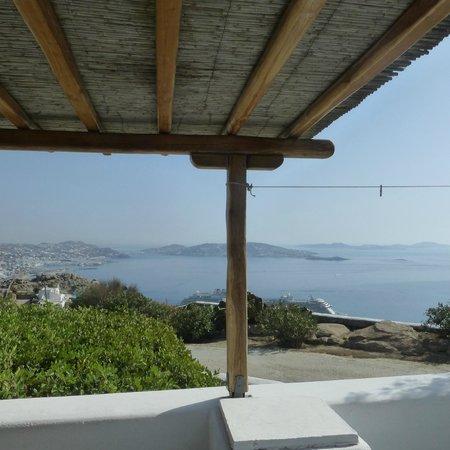 Agnandi Mare: vista dalla nostra terrazza