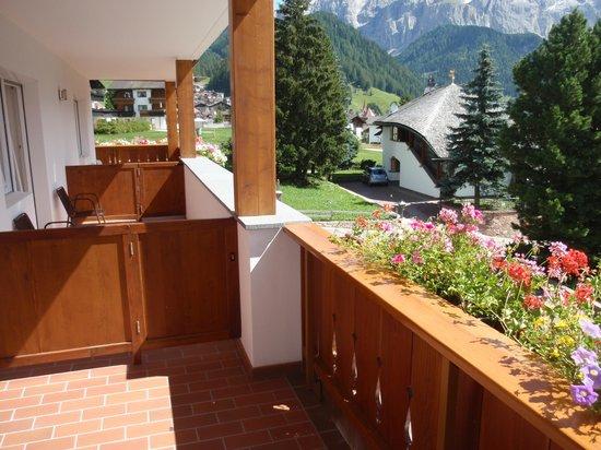 Hotel Bellevue: balconata