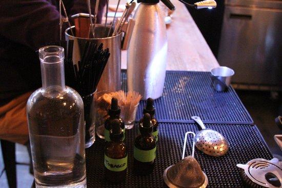 Drink: bartender's station